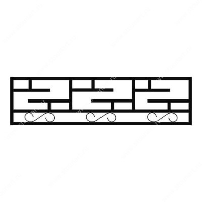 Кованая ограда на могилу — 008