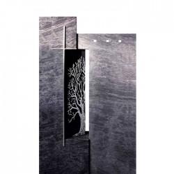 Памятник со стеклом СП — 005