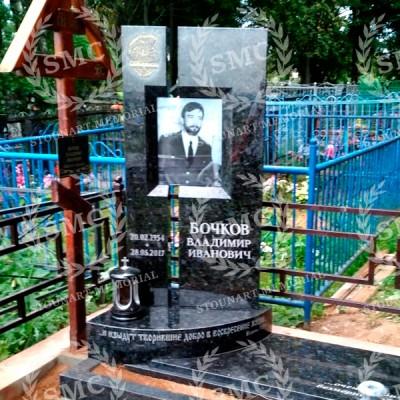 Памятник со стеклом СП — 012