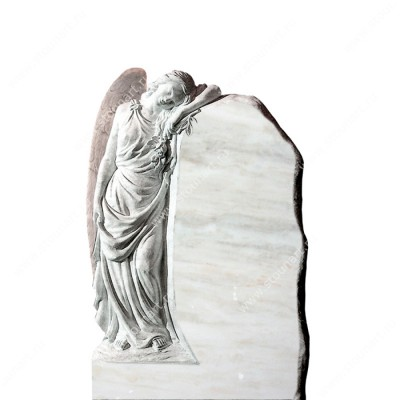 Скульптура ангела на могилу — 009