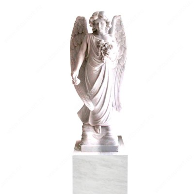 Скульптура ангела на могилу — 005