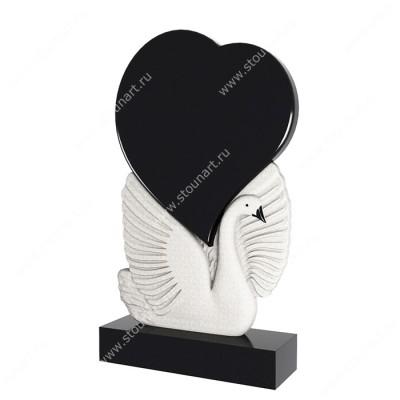 Памятник в виде сердца ПС-001